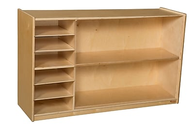 Wood Designs 30''H x 48''W x 15''D Mobile Shelf Storage (990331)