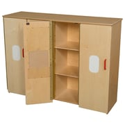 Wood Designs 36.75''H x 49''W x 15''D Toddler Cubby Storage (990540)