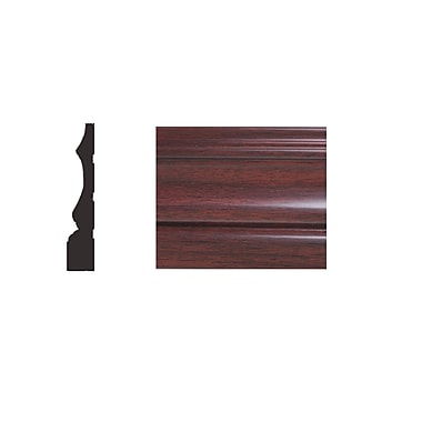 Forever Mouldings DW746-030 Classic Frame, 3''x96''x5/8'', Cherry Wood, 6/Pack