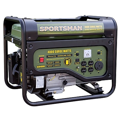 Sportsman Gasoline 4000 Watt Portable Generator - CARB Approved (300315)