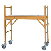 Pro-Series 4' Steel Mini Multi-Purpose Rolling Scaffold (300379)