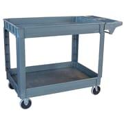 "Pro-Series 45"" Heavy Duty Utility Cart Plastic Gray (300405)"