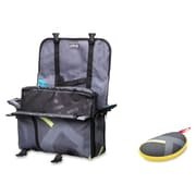 "ZIPIT Carrying Case Messenger for 14"" Notebook, Tablet, iPad, Gray & Blue"