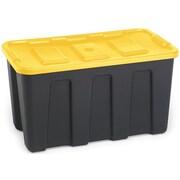Homz Durabilt Plastic Tote (Set of 4)