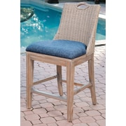 AlexanderSheridan Belize Side Chair; Rustic Driftwood