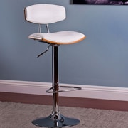 AC Pacific Adjustable Height Swivel Bar Stool