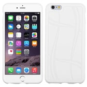 "Insten Basketball Rubber Case For Apple iPhone 6 Plus 5.5"" - White (1977715)"