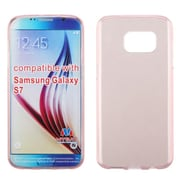 Insten Rubber Cover Case For Samsung Galaxy S7 - Rose Gold (2195750)