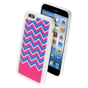 "Insten ZiggyZag Fuchsia Pattern TPU Silicone Rubber Gummy Back Case for iPhone 6S 6 4.7"" (1938461)"