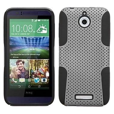 Insten ? Étui hybride en silicone/plastique rigide pour HTC Desire 510, gris/noir (2002859)