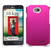 Insten Hard Case For LG Optimus Exceed 2 VS450PP Verizon/Optimus L70 MS323/Realm LS620 - Hot Pink (2068629)
