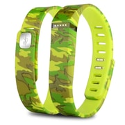 Zodaca Replacement Large Band for Fitbit Flex Wireless Activity Tracker Wristband Bracelet w/ Clasp Camo (2127062)