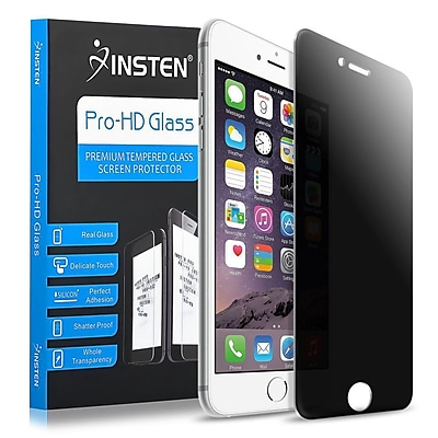 Insten Privacy Filter Anti-Spy Tempered Glass Screen Protector For Apple iPhone 6 6s 4.7