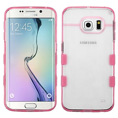 Insten TPU Case For Samsung Galaxy S6 Edge, Clear/Pink (2119560)