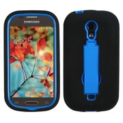 Insten Dark Blue/Black Symbiosis Stand Protector Case Cover For SAMSUNG T399 Galaxy Light (1695195)