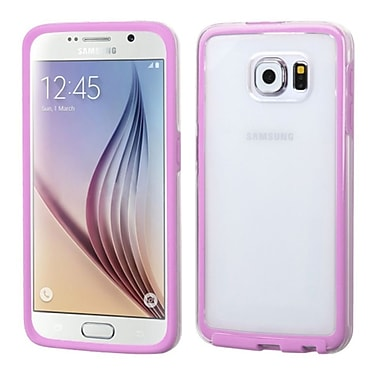 Insten Gel Cover Case For Samsung Galaxy S6 - Clear/Pink (2107730)