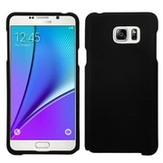 Insten Hard Rubber Case For Samsung Galaxy Note 5 - Black (2161906)