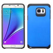 Insten Hard Hybrid Rugged Shockproof Rubber Silicone Cover Case For Samsung Galaxy Note 5 - Blue/Black (2141641)
