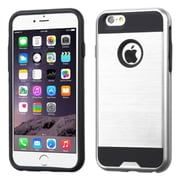 "Insten Slim Hybrid Dual Layer Shockproof Case for iPhone 6s Plus / 6 Plus 5.5"" - Silver/Black (2185428)"