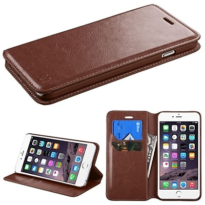 Insten PU Leather Flip Card Wallet Stand Case For Apple iPhone 6 Plus 5.5