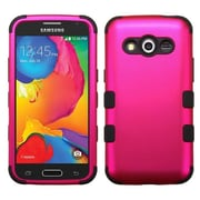 Insten Hard Hybrid Rugged Shockproof Cover Case For Samsung Galaxy Avant - Hot Pink/Black (2008228)