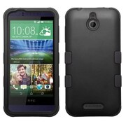 Insten Hard Hybrid Rugged Shockproof Cover Case For HTC Desire 510 - Black (2011522)