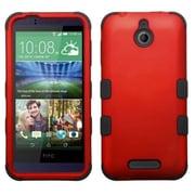 Insten Hard Hybrid Rugged Shockproof Cover Case For HTC Desire 510 - Red/Black (2011524)