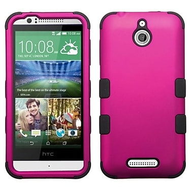 Insten Titanium Hot Pink/Black TUFF Hybrid Hard Shockproof Silicone Dual Layer Protective Case For HTC Desire 510 (2026226)