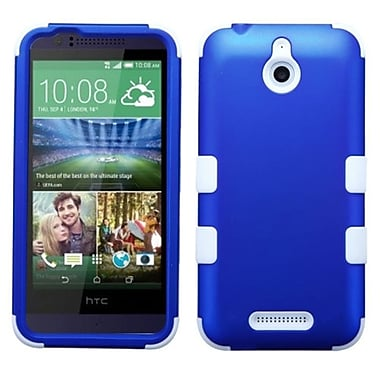 Insten Tuff Hard Dual Layer Silicone Cover Case For HTC Desire 510 - Blue/White (2037149)