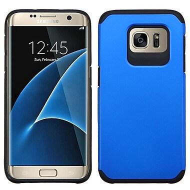 Insten Hard Dual Layer Silicone Case For Samsung Galaxy S7 Edge - Blue/Black (2200372)