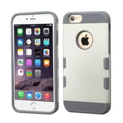 """Insten Dual Layer Hard Hybrid Protective Shockproof Case for iPhone 6s Plus / 6 Plus 5.5"""" - White/Gray (2162075)"""