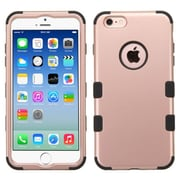 Insten Hybrid 3-Layer Protective Hard PC Outer/Silicone Inner Case for iPhone 6 6s - Rose Gold (2169337)