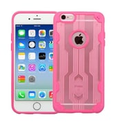 Insten Hard TPU Case For Apple iPhone 6/6s - Rose Gold/Hot Pink (2192883)