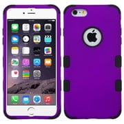 "Insten Hybrid 3-Layer Hard PC Outer/Silicone Inner Case for iPhone 6s Plus / 6 Plus 5.5"" - Purple/Black (2002917)"