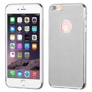 Insten Rubber Case For Apple iPhone 6 Plus/6s Plus - Silver (2192991)