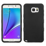 Insten Tuff Hard Hybrid Rugged Shockproof Silicone Case For Samsung Galaxy Note 5 - Black (2141682)