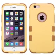 """Insten Hybrid 3-Layer Hard PC Outer/Silicone Inner Case for iPhone 6s Plus / 6 Plus 5.5"""" - Yellow/Brown (2186277)"""