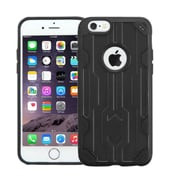 Insten Hard TPU Case For Apple iPhone 6 Plus/6s Plus - Black (2162562)