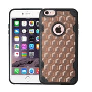 Insten Hard Transparent Crystal TPU Cover Case For Apple iPhone 6 Plus/6s Plus - Smoke/Black (2181418)