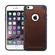 Insten Clear Crystal Back Panel Cover Case with TPU Shock Absorbing Bumper For Apple iPhone 6s Plus / 6 Plus - Black (2185466)