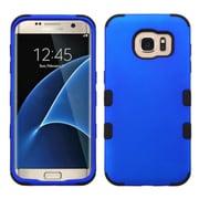 Insten Tuff Hard Dual Layer Rubberized Silicone Case For Samsung Galaxy S7 Edge - Blue/Black (2208101)
