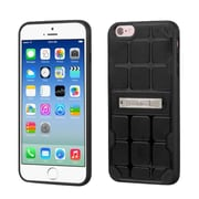 Insten Hard TPU Cover Case w/stand For Apple iPhone 6/6s - Black (2192767)