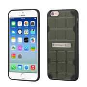 Insten Hard TPU Case w/stand For Apple iPhone 6/6s - Green/Black (2192768)