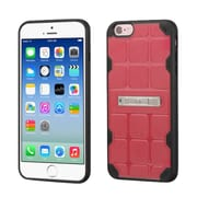 Insten Hard TPU Case w/stand For Apple iPhone 6/6s - Pink/Black (2192771)