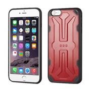 Insten Hard TPU Case For Apple iPhone 6 Plus/6s Plus - Red/Black (2192782)