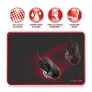 Insten Game Gaming Mouse Pad Mat Mousepad with Anti-Slip Rubber Back Base Waterproof Coating, Medium (2208925)