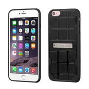 Insten Hard TPU Case w/stand For Apple iPhone 6 Plus/6s Plus - Black (2189653)
