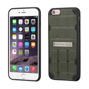 Insten Hard TPU Case w/stand For Apple iPhone 6 Plus/6s Plus - Green/Black (2189654)