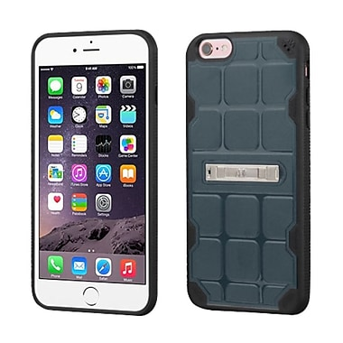 Insten Hard TPU Cover Case w/stand For Apple iPhone 6 Plus/6s Plus - Blue/Black (2189655)