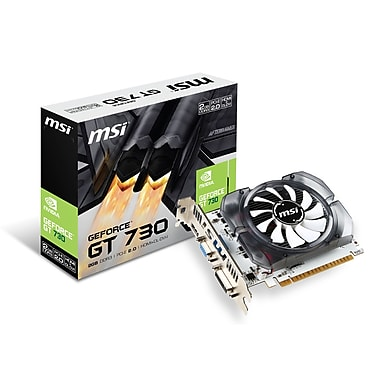 MSI - Carte pour graphiques GeForce N730 2GD3V3